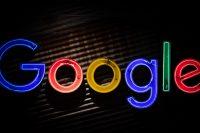 Google neon lights